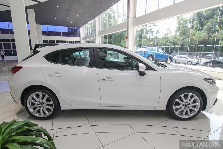 Mazda 3 CKD launched in Malaysia, RM106k-121k Image #326607
