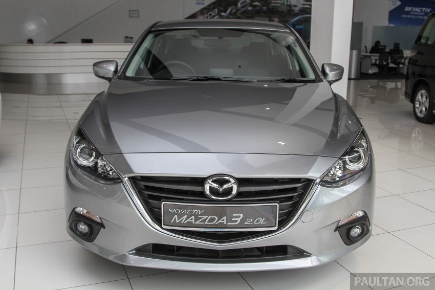 Mazda 3 CKD launched in Malaysia, RM106k-121k Image #326504