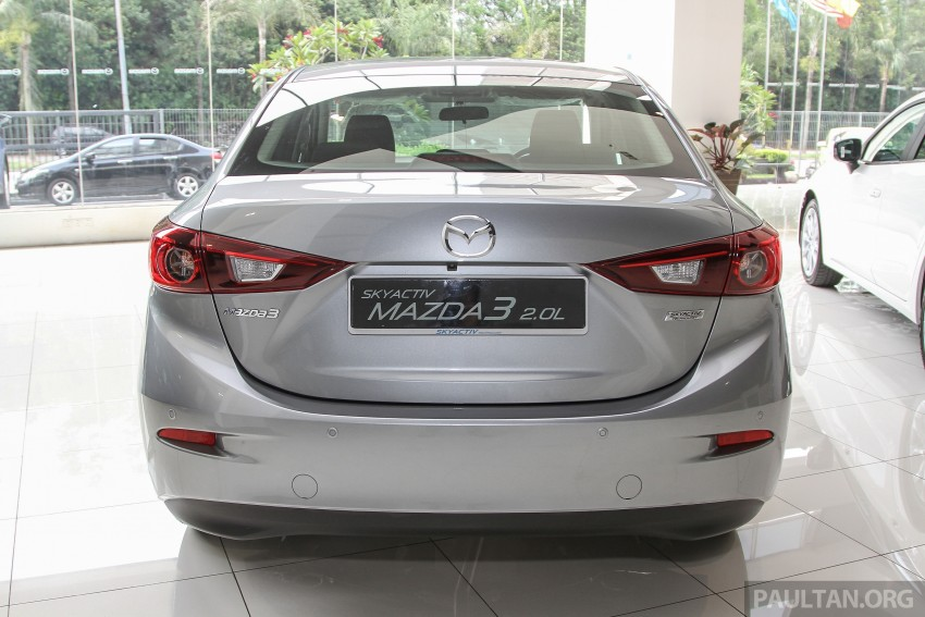 Mazda 3 CKD launched in Malaysia, RM106k-121k Image #326516