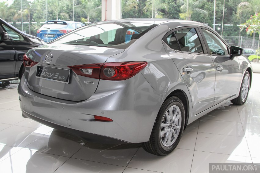Mazda 3 CKD launched in Malaysia, RM106k-121k Image #326517