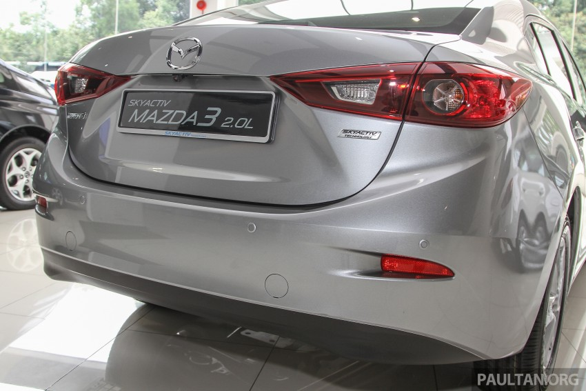 Mazda 3 CKD launched in Malaysia, RM106k-121k Image #326518