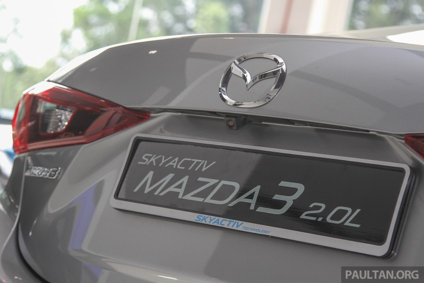 Mazda 3 CKD launched in Malaysia, RM106k-121k Image #326521
