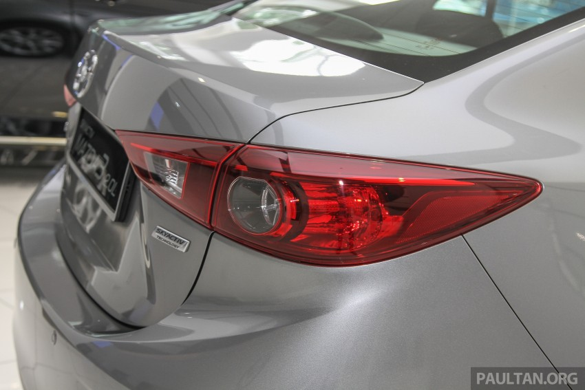 Mazda 3 CKD launched in Malaysia, RM106k-121k Image #326522