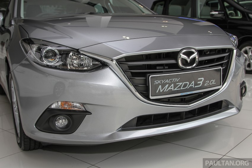 Mazda 3 CKD launched in Malaysia, RM106k-121k Image #326507