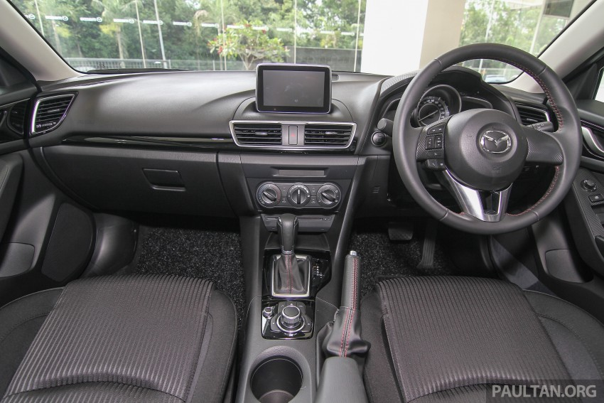 Mazda 3 CKD launched in Malaysia, RM106k-121k Image #326536