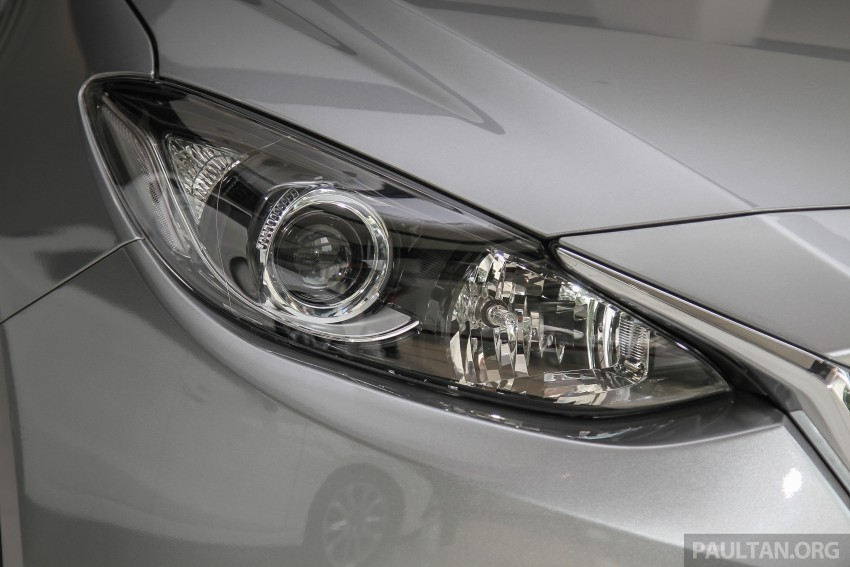 Mazda 3 CKD launched in Malaysia, RM106k-121k Image #326508