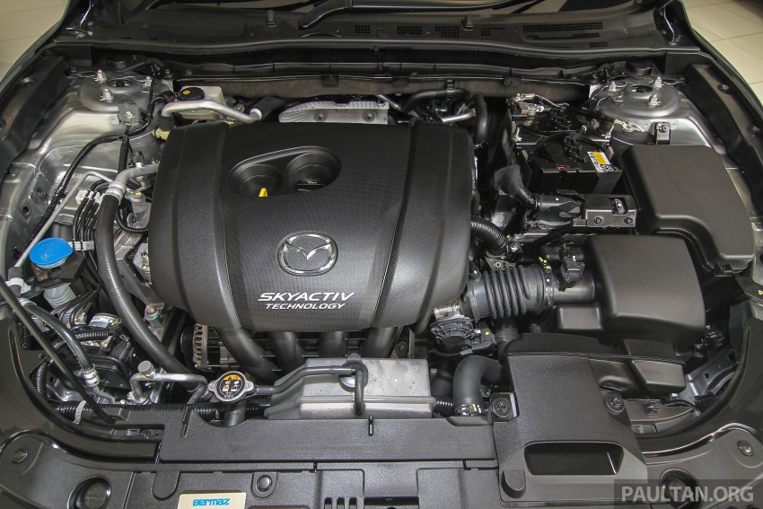 Mazda 3 CKD launched in Malaysia, RM106k-121k Image #326544