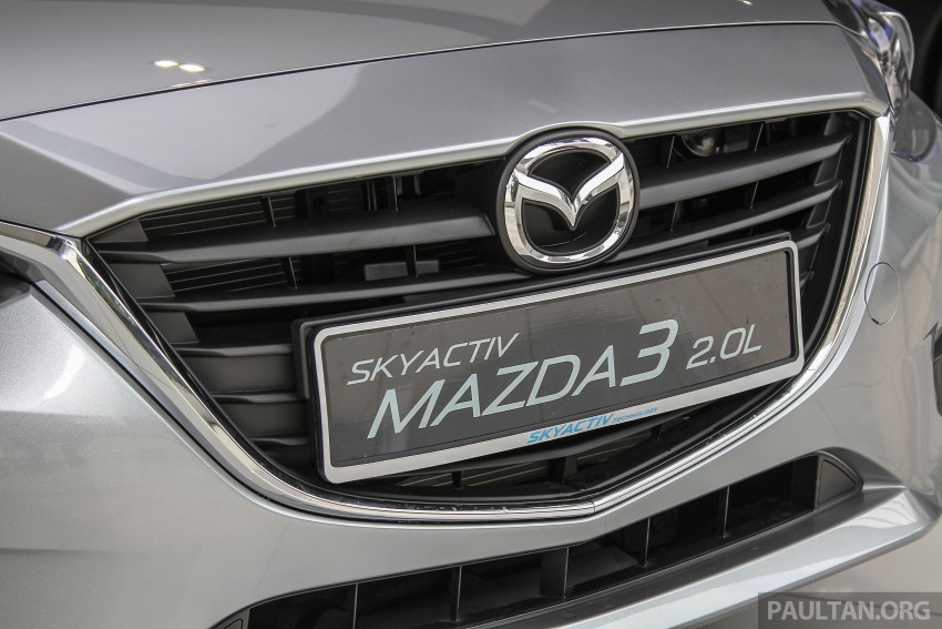 Mazda 3 CKD launched in Malaysia, RM106k-121k Image #326509