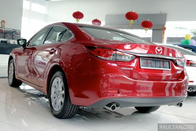 Mazda 6 Facelift 2