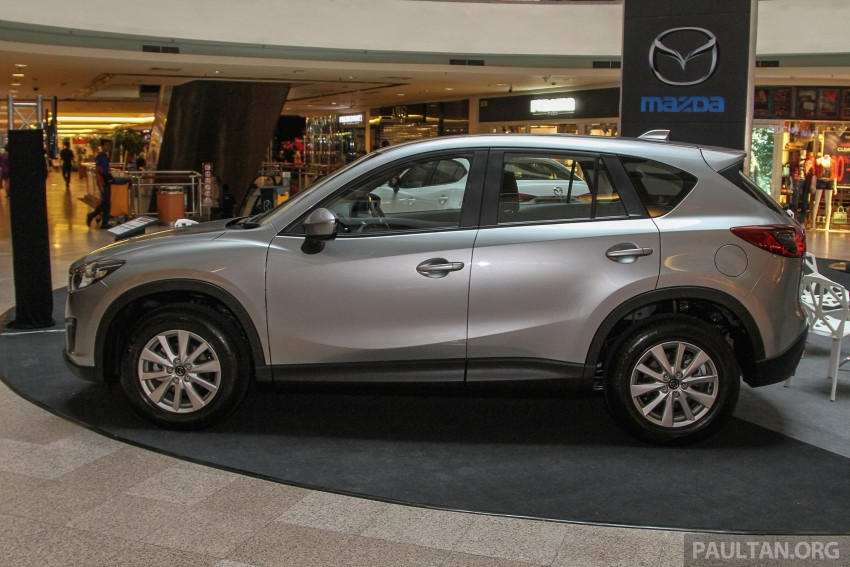 Mazda CX-5 GL launched, new base variant at RM126k Image #326441