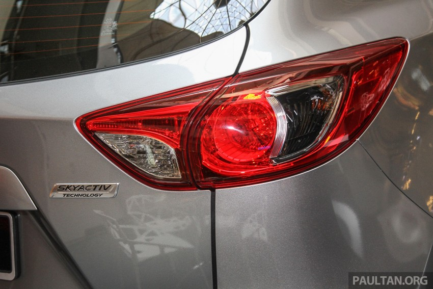 Mazda CX-5 GL launched, new base variant at RM126k Image #326444