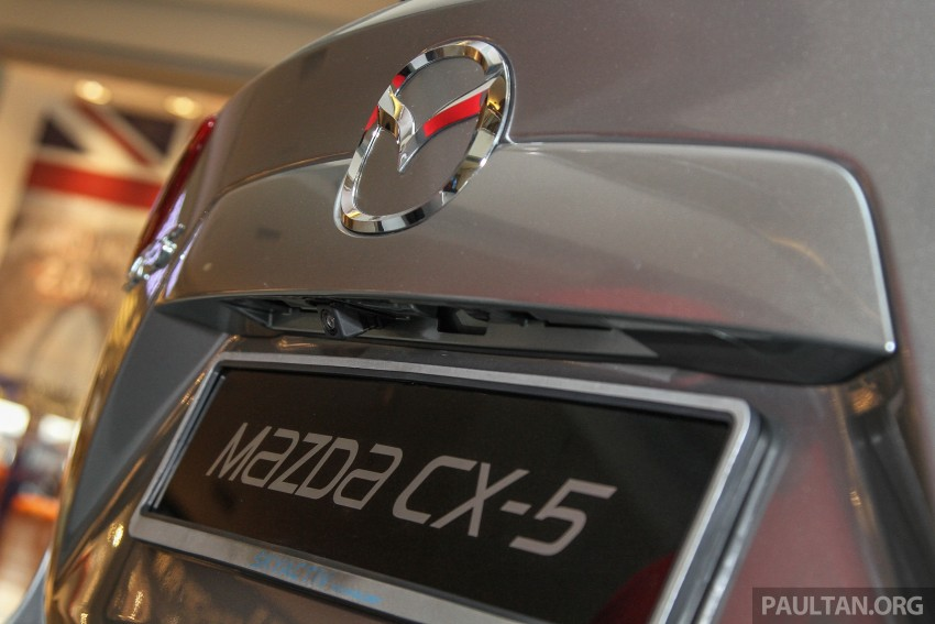 Mazda CX-5 GL launched, new base variant at RM126k Image #326447