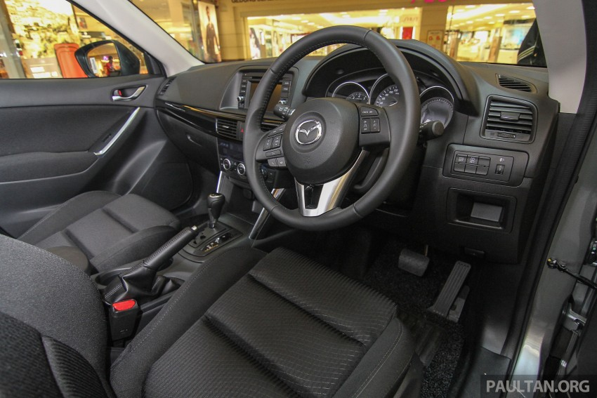 Mazda CX-5 GL launched, new base variant at RM126k Image #326450