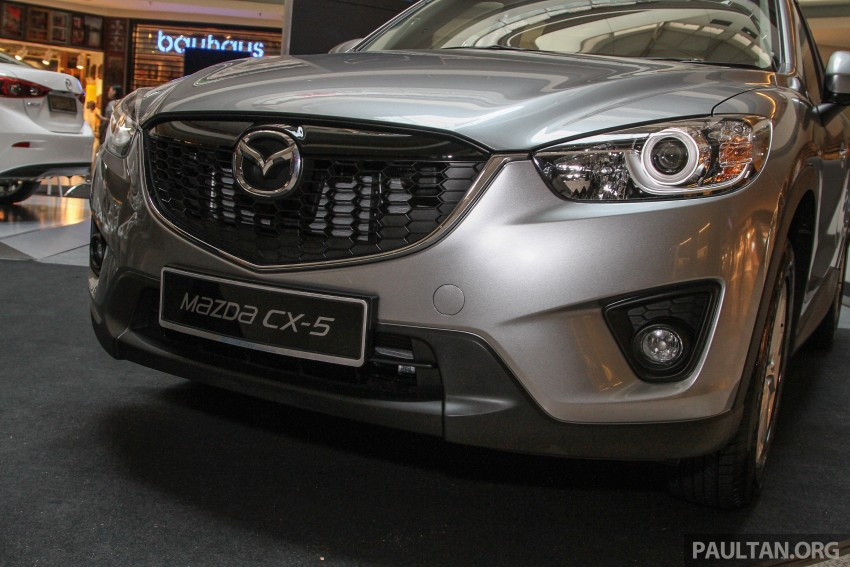 Mazda CX-5 GL launched, new base variant at RM126k Image #326432