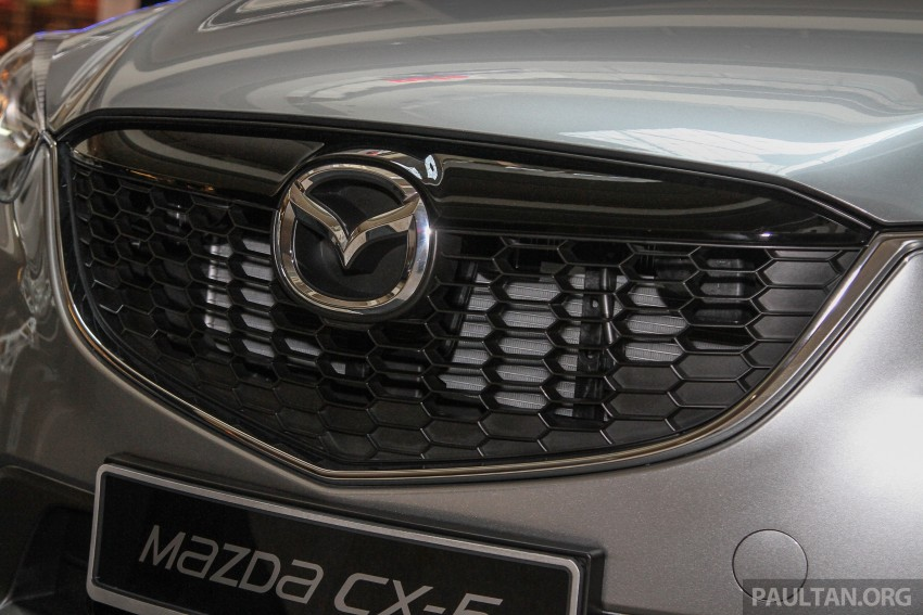 Mazda CX-5 GL launched, new base variant at RM126k Image #326435
