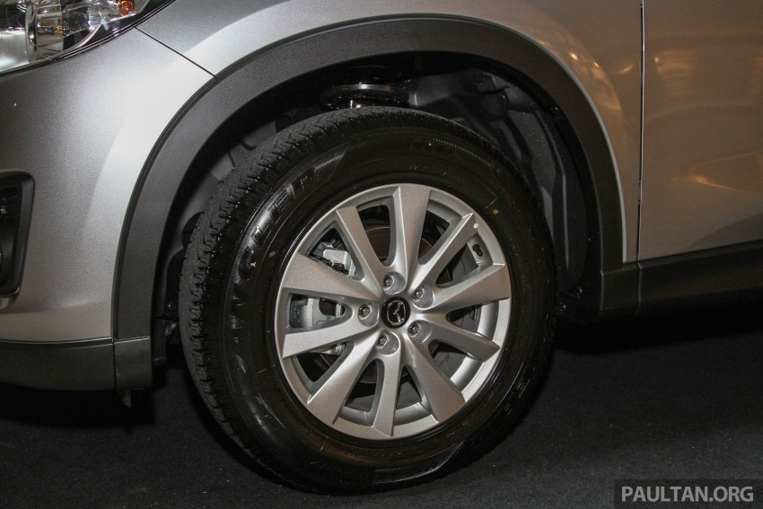 Mazda CX-5 GL launched, new base variant at RM126k Image #326437
