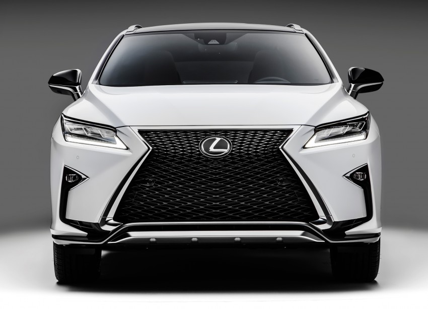 Lexus RX 450h and RX 350 F Sport debut at NYIAS Image #323792