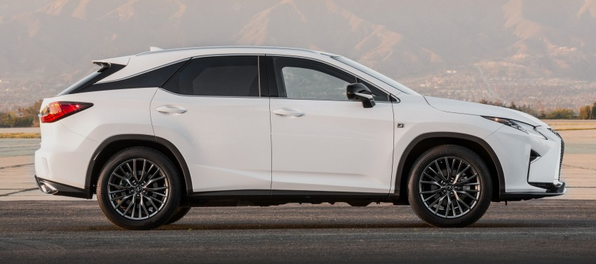 Lexus RX 450h and RX 350 F Sport debut at NYIAS Image #323790