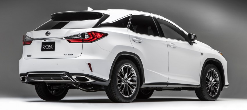 Lexus RX 450h and RX 350 F Sport debut at NYIAS Image #323793