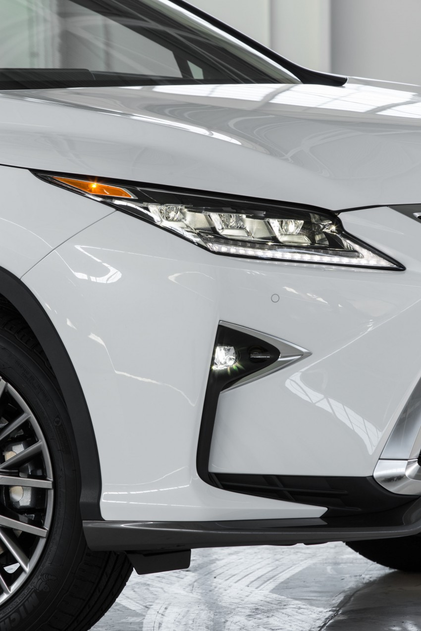Lexus RX 450h and RX 350 F Sport debut at NYIAS Image #323791