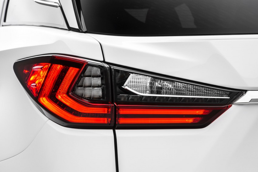Lexus RX 450h and RX 350 F Sport debut at NYIAS Image #323787