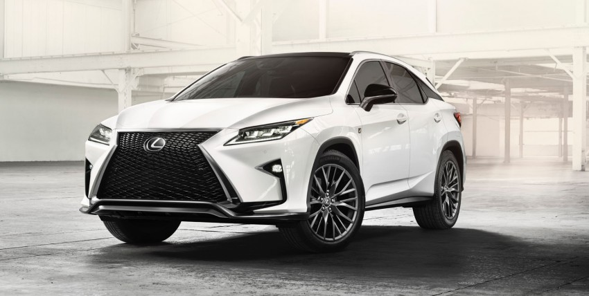 Lexus RX 450h and RX 350 F Sport debut at NYIAS Image #323779