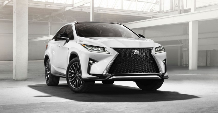 Lexus RX 450h and RX 350 F Sport debut at NYIAS Image #323782