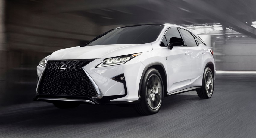 Lexus RX 450h and RX 350 F Sport debut at NYIAS Image #323770