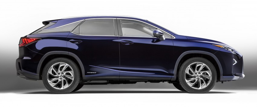 Lexus RX 450h and RX 350 F Sport debut at NYIAS Image #323767