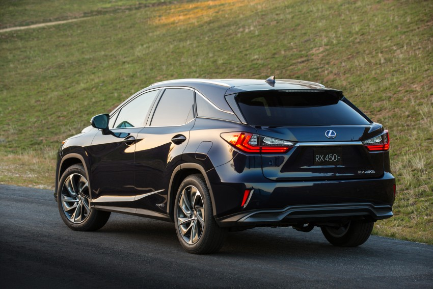 Lexus RX 450h and RX 350 F Sport debut at NYIAS Image #323765