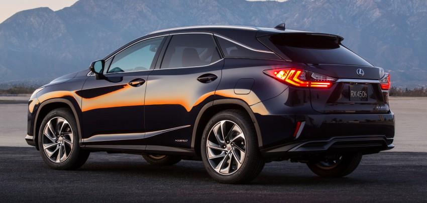 Lexus RX 450h and RX 350 F Sport debut at NYIAS Image #323762