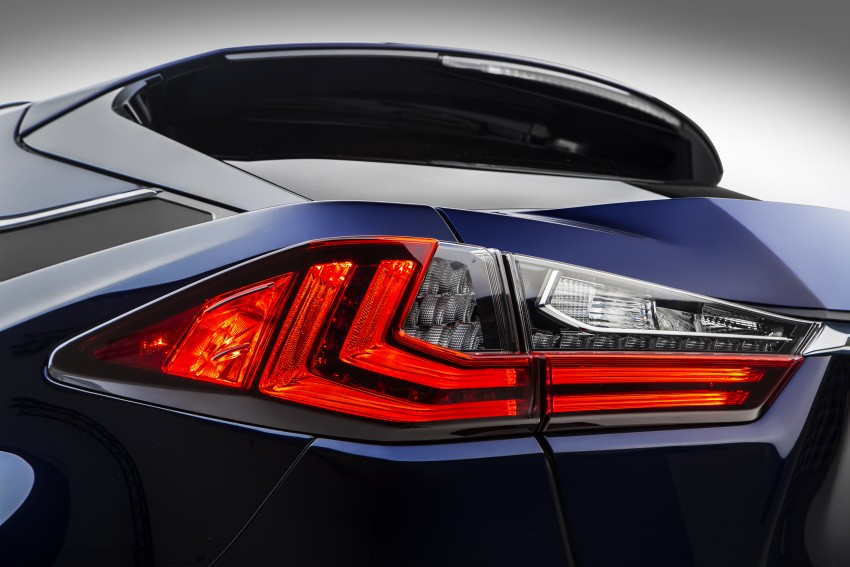 Lexus RX 450h and RX 350 F Sport debut at NYIAS Image #323763