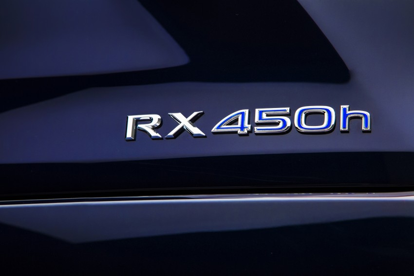 Lexus RX 450h and RX 350 F Sport debut at NYIAS Image #323760