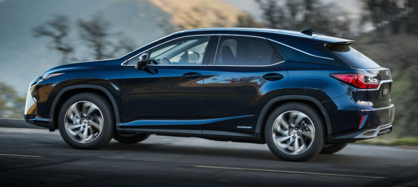 Lexus RX 450h and RX 350 F Sport debut at NYIAS Image #323751