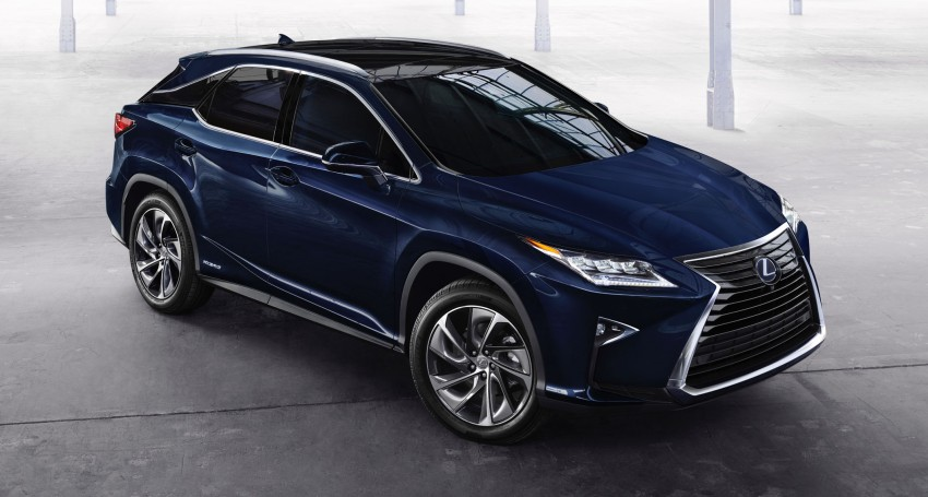 Lexus RX 450h and RX 350 F Sport debut at NYIAS Image #323748
