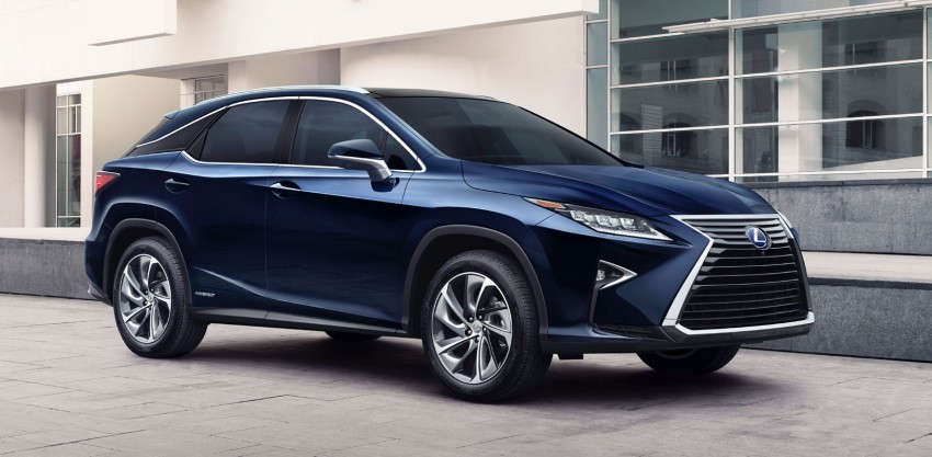 Lexus RX 450h and RX 350 F Sport debut at NYIAS Image #323747