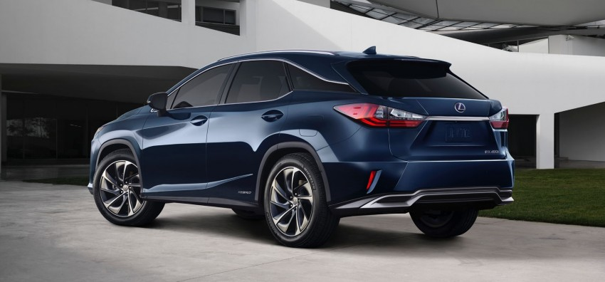 Lexus RX 450h and RX 350 F Sport debut at NYIAS Image #323746