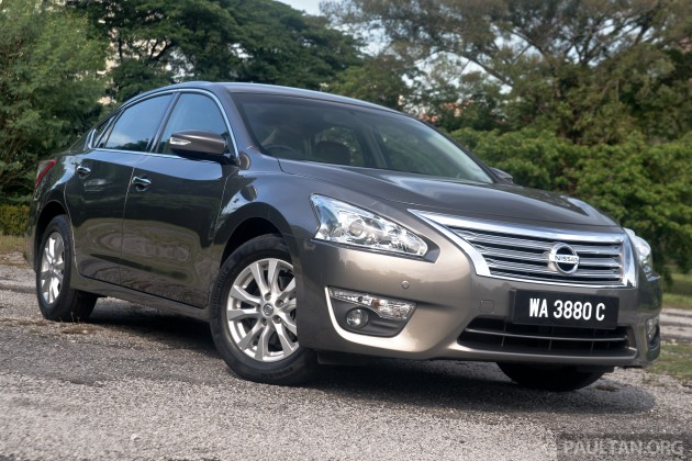 driven nissan teana 2 0xl mid spec top choice rh paultan org 2014 Nissan Teana India All New Nissan Teana 2014