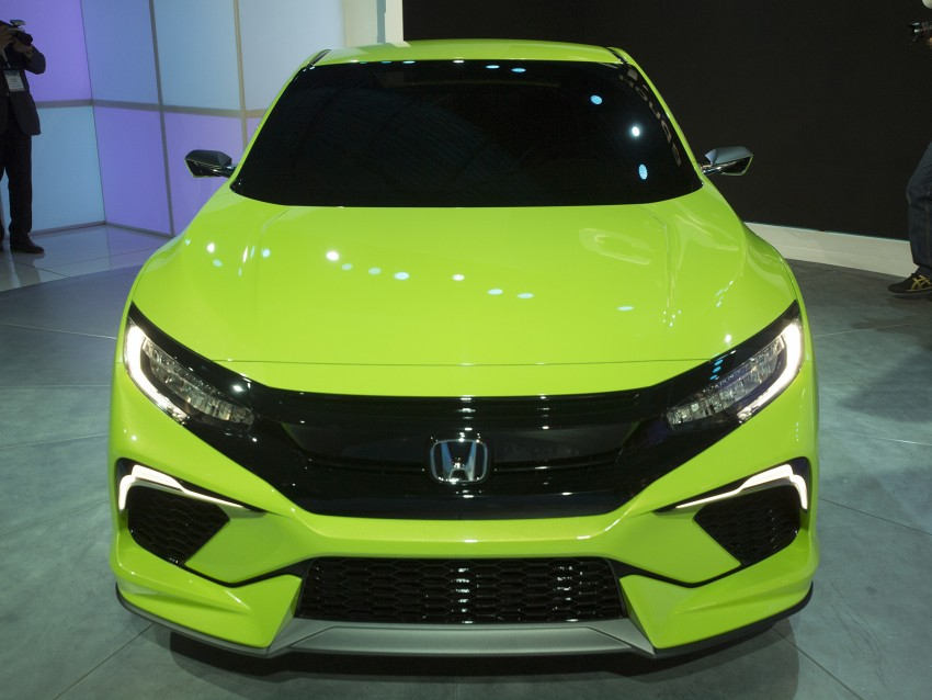 Honda Civic Concept debuts in NYC, previews tenth-gen for ASEAN – Type R hatch confirmed for US Image #324311
