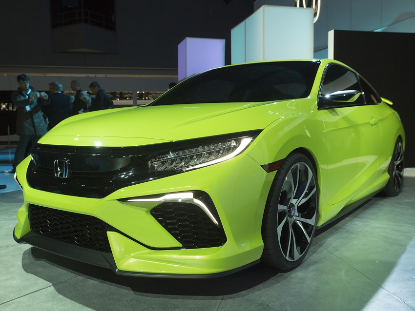 Honda Civic Concept debuts in NYC, previews tenth-gen for ASEAN – Type R hatch confirmed for US Image #324308