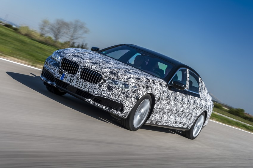2016 BMW 7 Series G11/G12 – first details released Image #329950