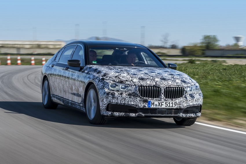 2016 BMW 7 Series G11/G12 – first details released Image #329954