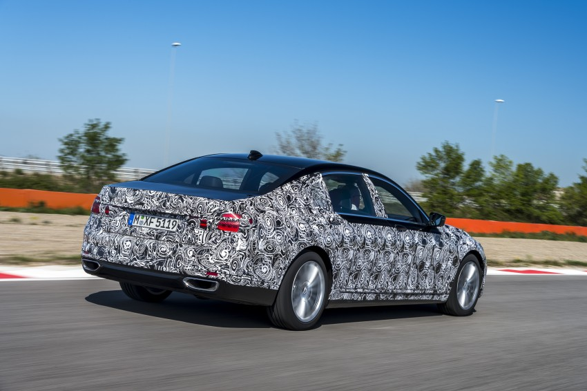 2016 BMW 7 Series G11/G12 – first details released Image #329948