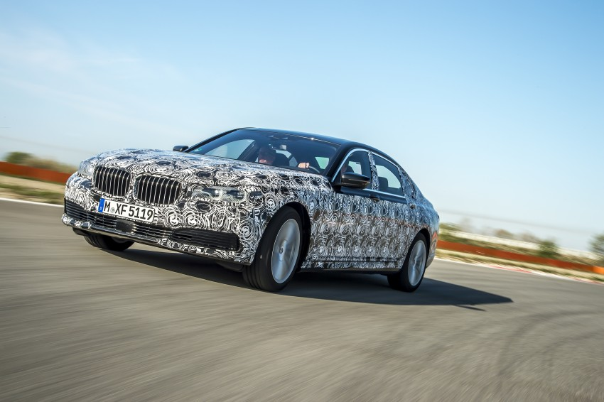 2016 BMW 7 Series G11/G12 – first details released Image #329922