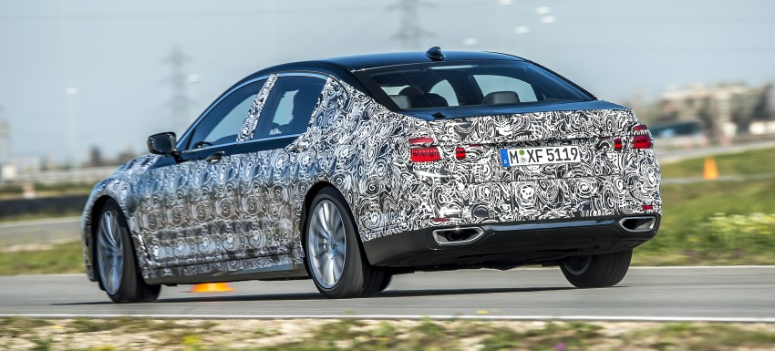 2016 BMW 7 Series G11/G12 – first details released Image #329924