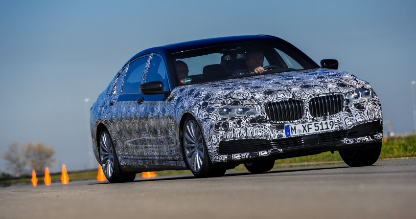 2016 BMW 7 Series G11/G12 – first details released Image #329936