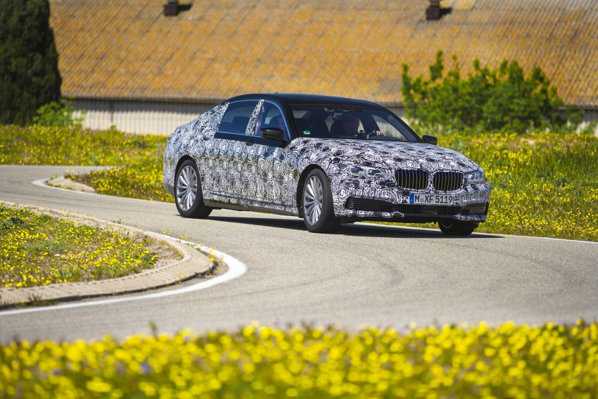 2016 BMW 7 Series G11/G12 – first details released Image #329921