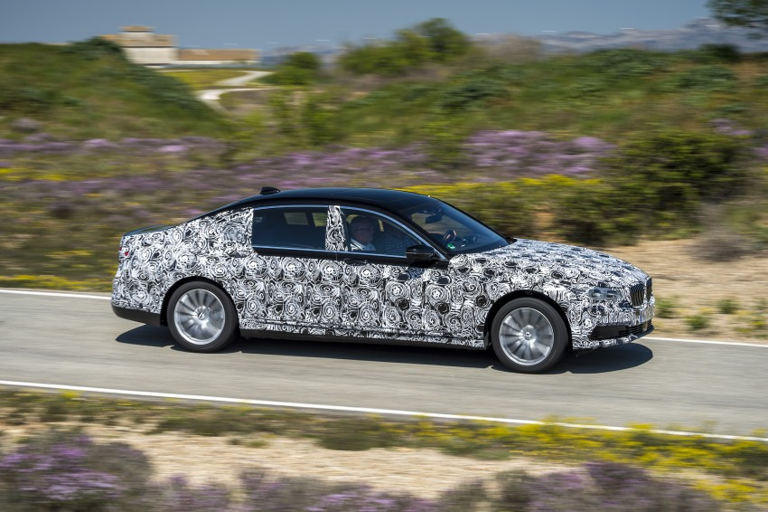 2016 BMW 7 Series G11/G12 – first details released Image #329931