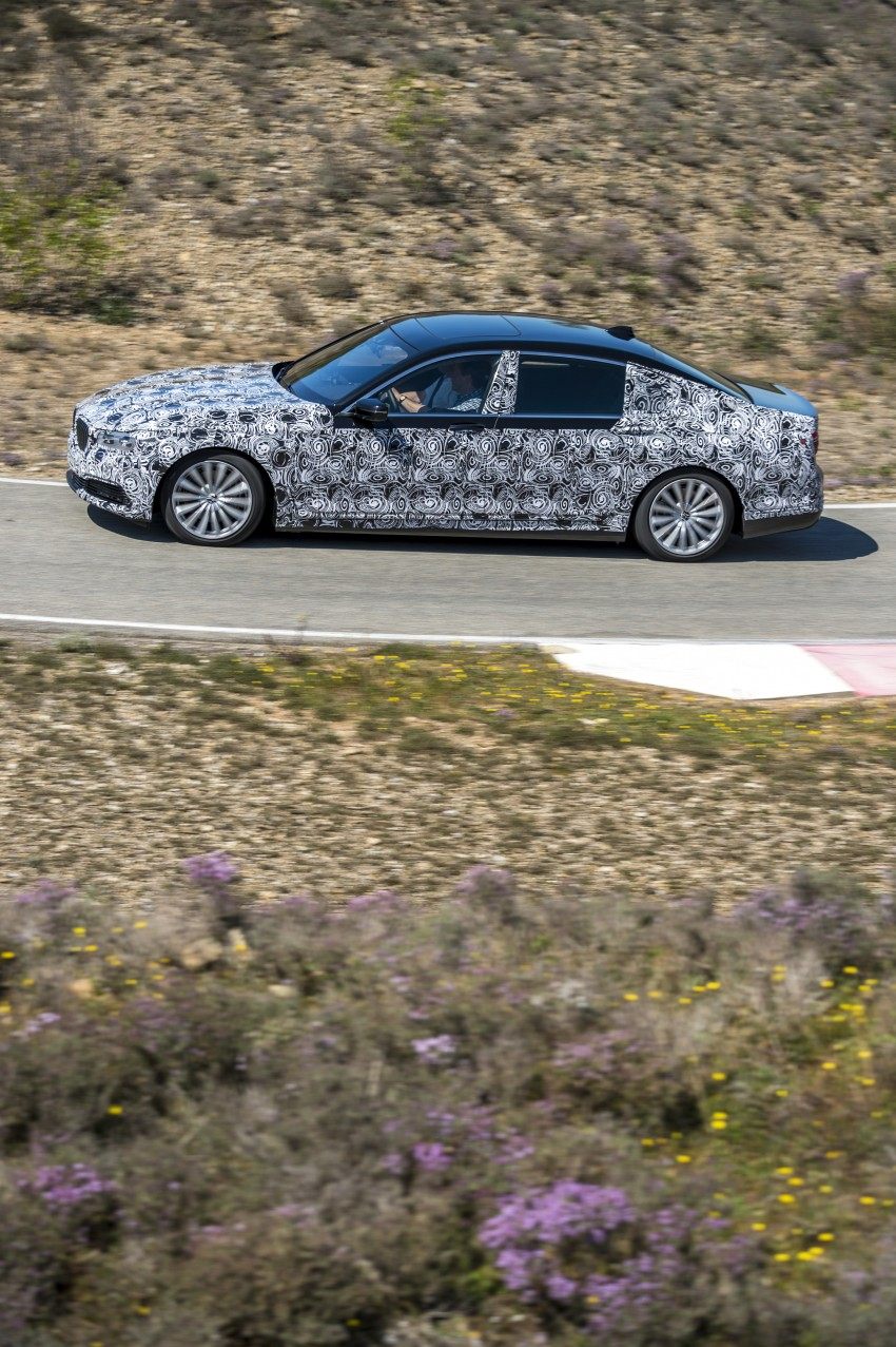 2016 BMW 7 Series G11/G12 – first details released Image #329933