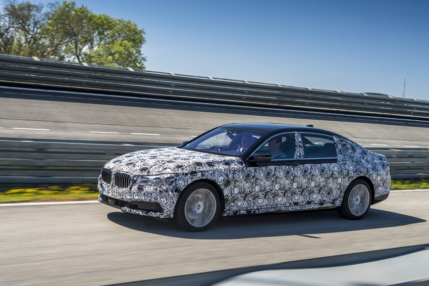 2016 BMW 7 Series G11/G12 – first details released Image #329940